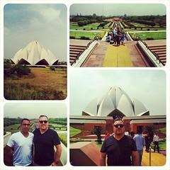 Lotus Temple aka  Bahá'í Faith House of Worship in New Delhi, India.  #lotus #temple #bahai #bahaifaith #onlyinindia #newdelhi #india