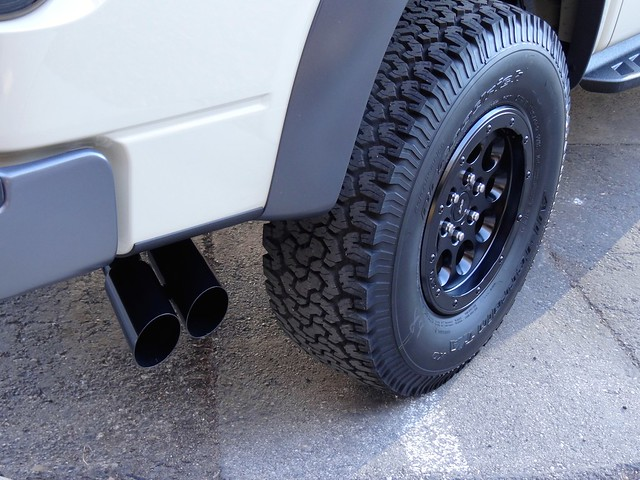 Powder Coated Wheels and Exhaust Tips