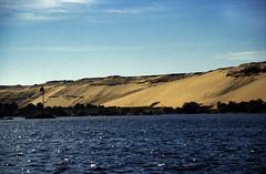 Ägypten 1999 (056) Assuan: Felukenfahrt