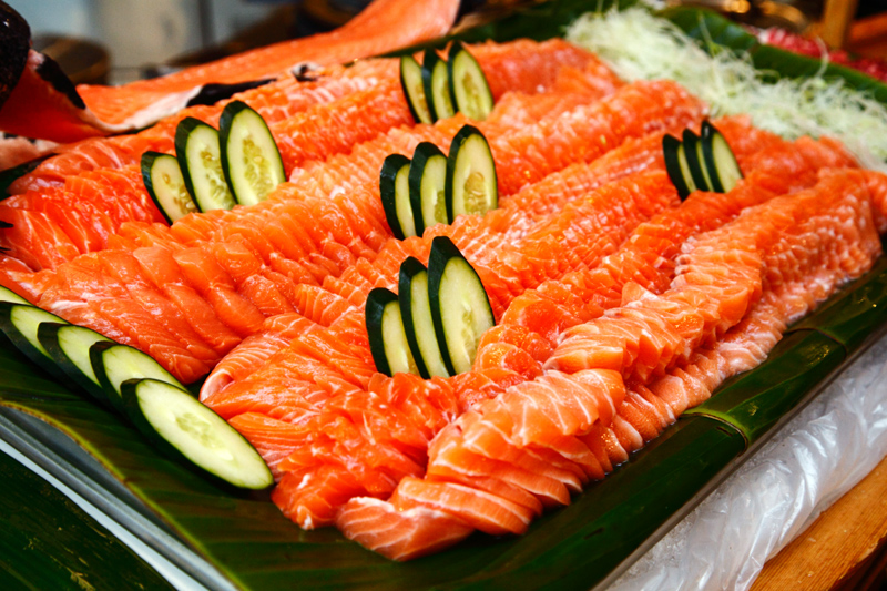 Salmon Sashimi Latest Recipe