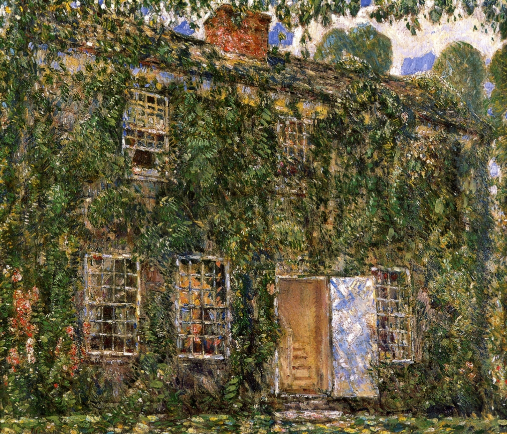 Home Sweet Home Cottage, East Hampton by Frederick Childe Hassam - circa 1916