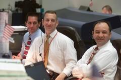 William A. Oefelein, Charles O. Hobaugh and Mark L. Polansky