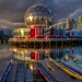 Science World Sunset by Basic Elements Photography