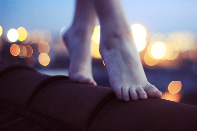 Feet - Beautiful Bokeh Photography