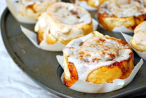 Caramel Pecan Bun Muffins