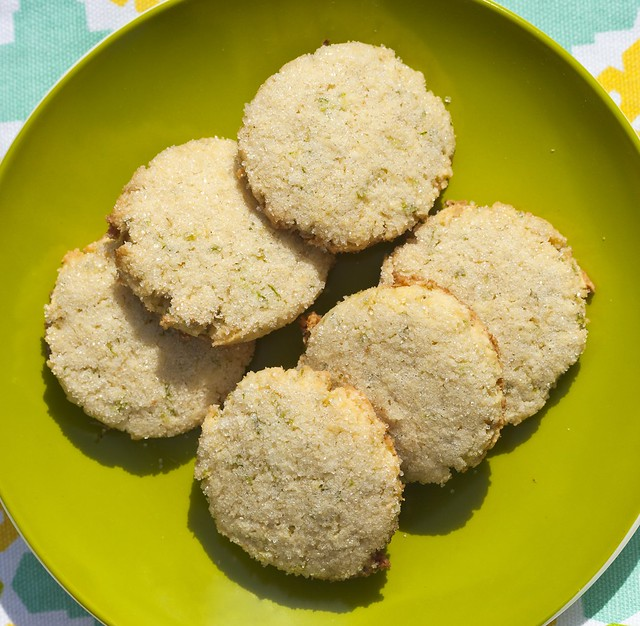 Coconut-Lime Cookies