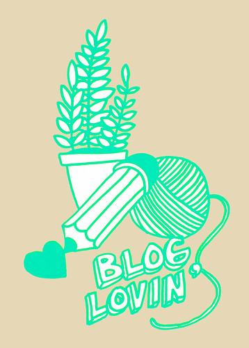 Blog lovin'-button