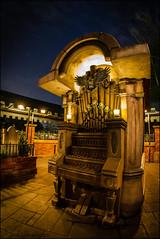 Pipe Organ - Haunted Mansion Queue 2012 #WDW