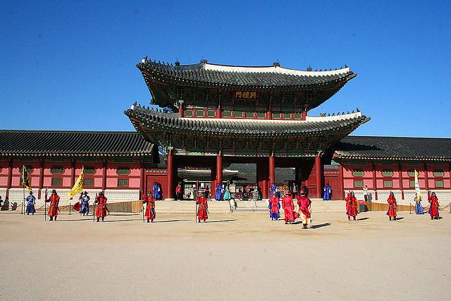 Korea gyeongbok