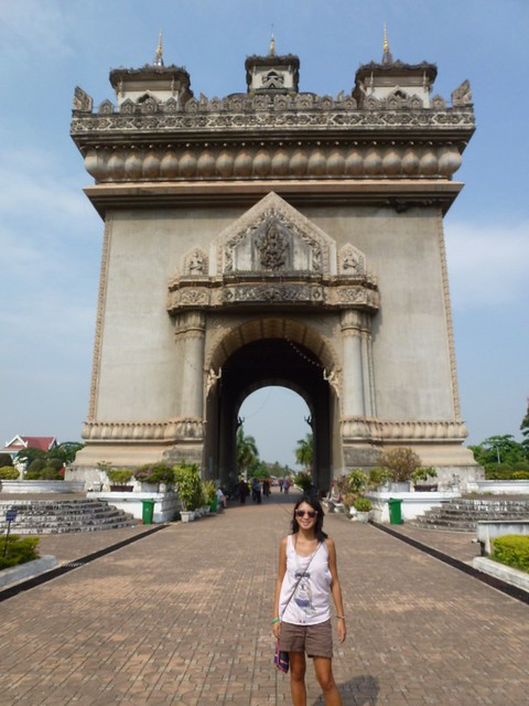 The patuxai arch