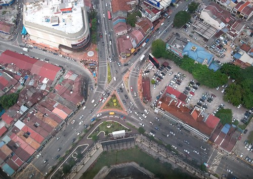 A view from Komtar tower