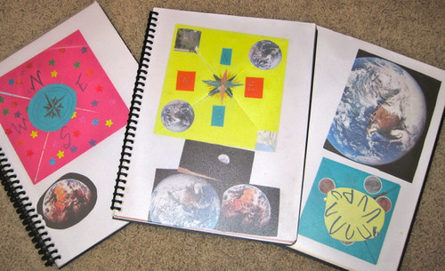 Front Page of Geography Notebooks