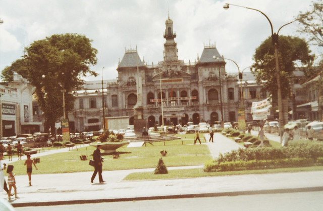 Saigon's City Hall near Tu Do Street.