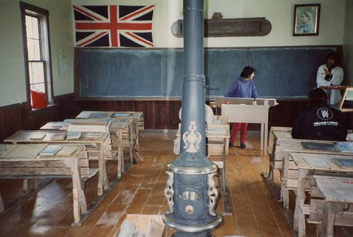 Lower Bedeque school interior 1996