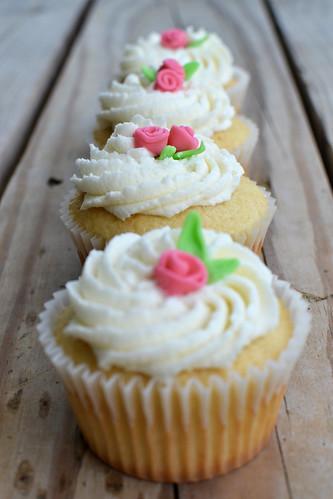 Rose cupcakes 2