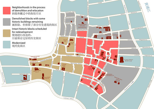 Dongjiadu: Threatened Architecture Map by avezink