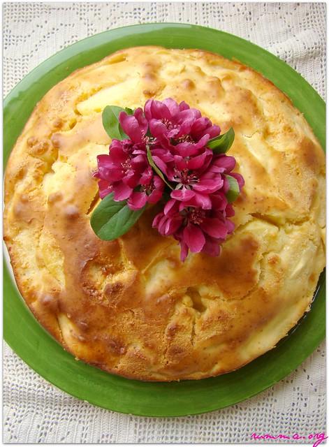 elma dilimli kek
