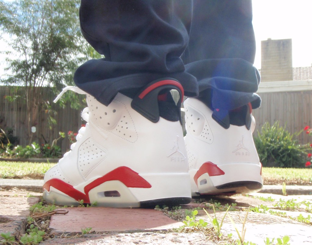 sports shoes f87af 85f59 Air Jordan 6 (White/Varsity Red) 2009 Release | sk8shoeking ...