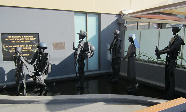 Sculpture at Bentleigh RSL