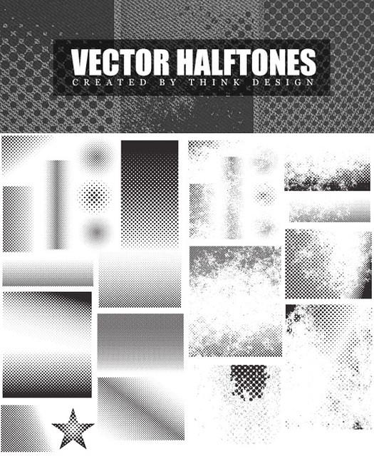 Vectors Halftone