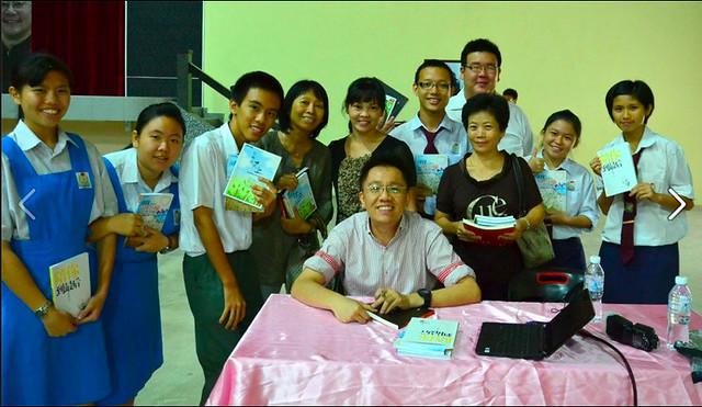 """2012-04-23 - 馬來西亞吉打雙溪大年 - 新民獨立中學 - """"关爱自己的生命"""""""