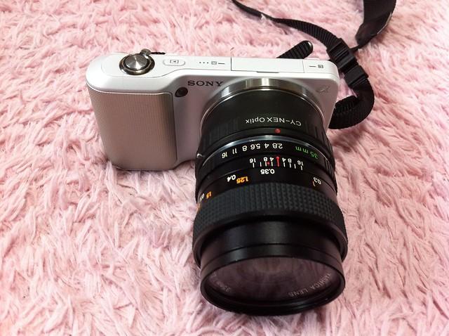 逝く玉、クル玉、2012年を振り返る3 YASHICA ML 35mm F2.8