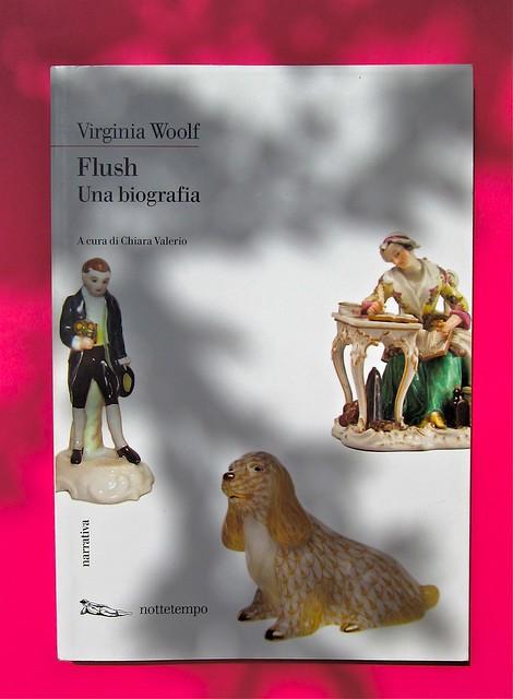 Virginia Woolf, Flush. Una biografia. A cura di Chiara Valerio; nottetempo, Roma 2012. progetto grafico di Dario e Fabio Zannier. copertina (part.), 1