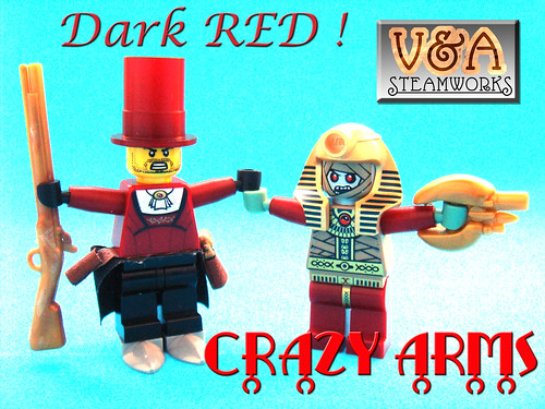dark red crazy arms