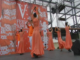 video 02 Amanecer Rociero Infantil V Feria Abril Las Palmas de Gran Canaria 2012