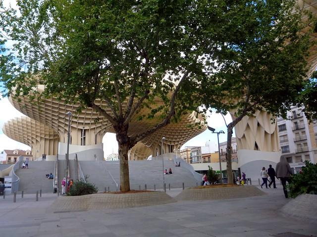 Andalusien Sevilla Plaza mayor