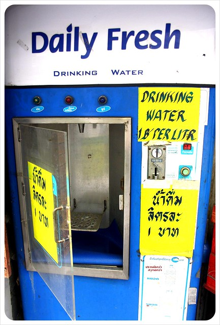 bangkok water machine