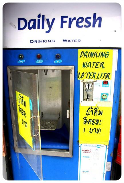 Water refill machine in Bangkok