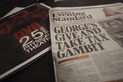budget headline