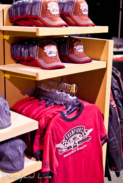Cars Land / Buena Vista Street AP Merchandise Showcase - Cars Land Tee Shirts