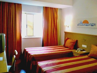 My room at Hotel Santa Maria Faro