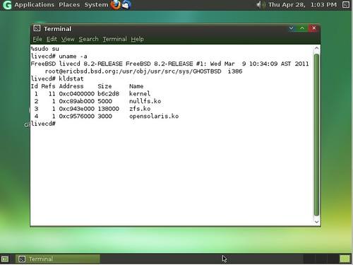 GhostBSD - гэта такі аварыйны дыск з FreeBSD 8.2