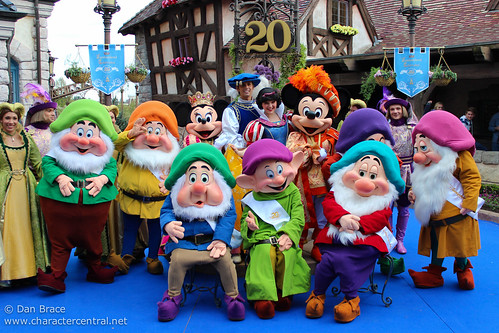20th Anniversary at Disneyland Paris!