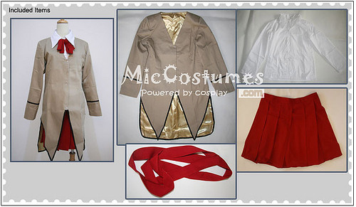 School Rumble Yagami High School Cosplay Costume
