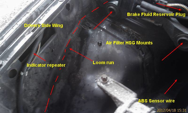 1998 astra g sri engine loom fire