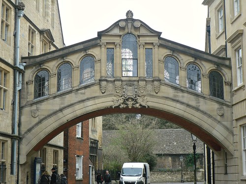 Bridge of Sighs, Oxford, Oxfordshire