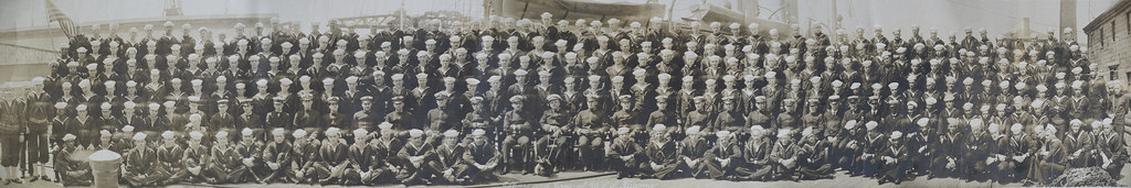 USS Tacoma Crew Circa 1917-1920 Reduced to 25Mb