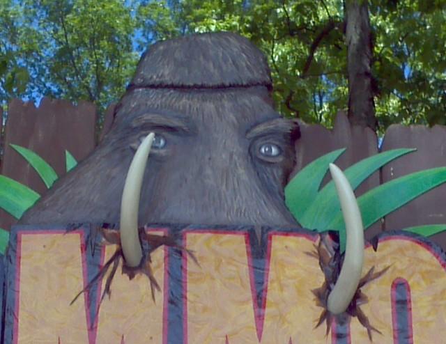 Mammoth sign
