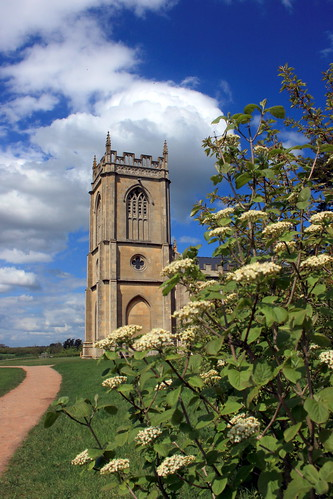 Croome Court - church