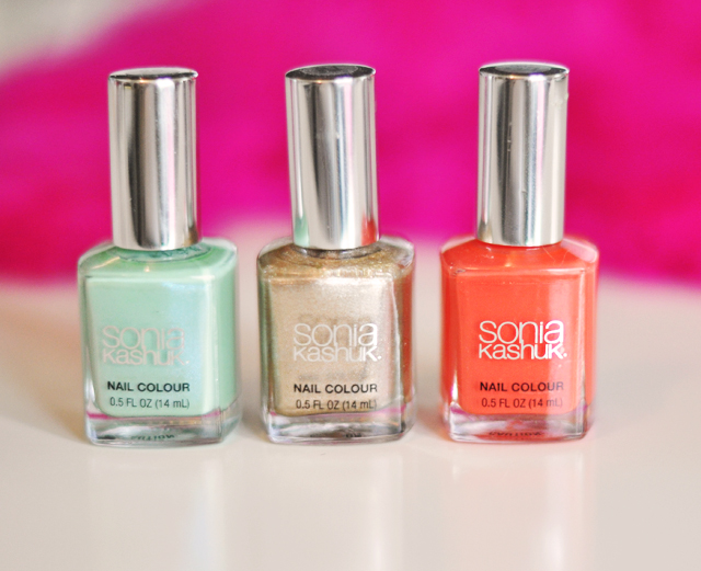 sonia kashuk nail colors for spring  -
