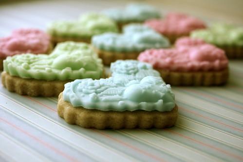 Amo Te Springtime Cookies