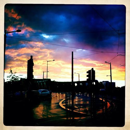 sunset rain pluie iphone valenciennes hipstamatic