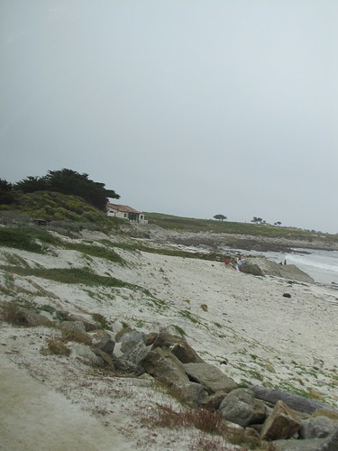 Beach along 17-mile drive