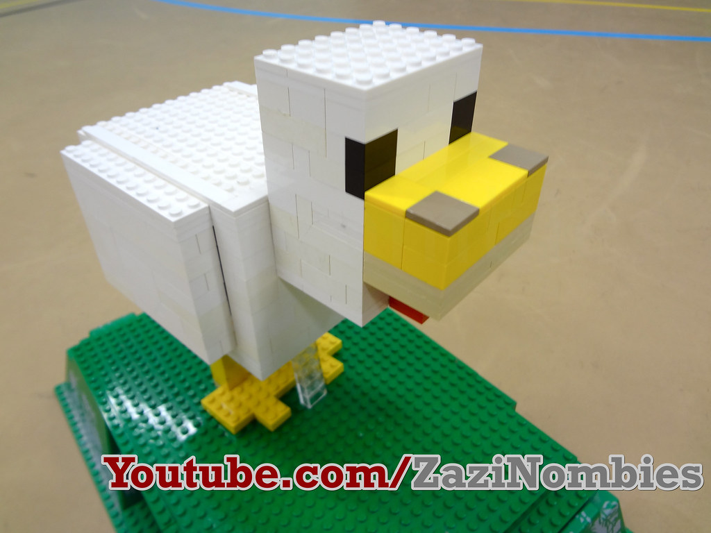how to make lego minecraft villagers
