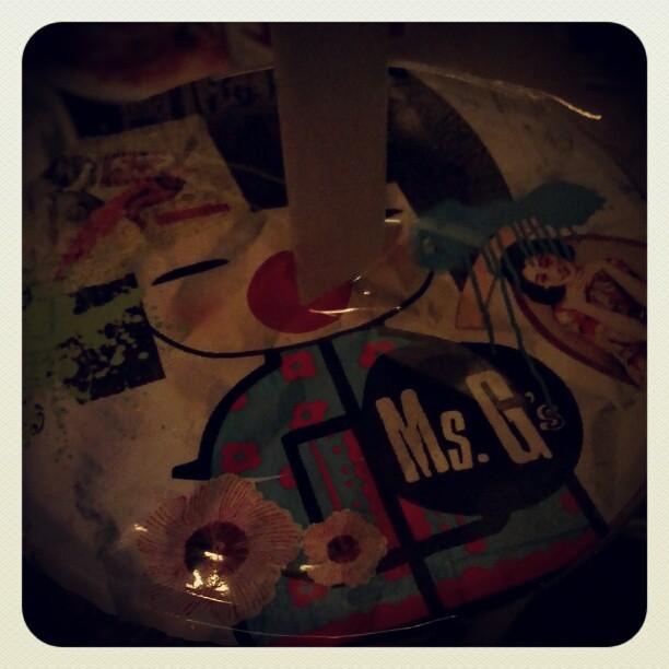 Ang Moh alcoholic bubble tea at Ms. G