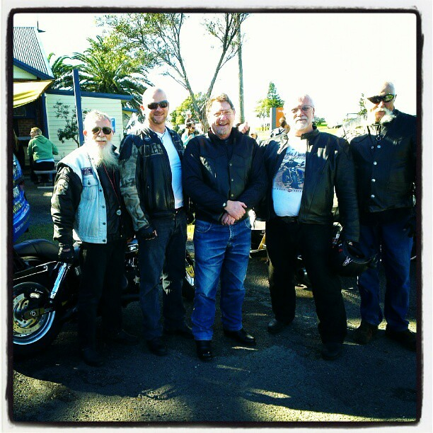Harley bikers love HTC!